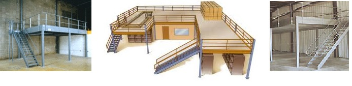 Mezzanines storage platforms