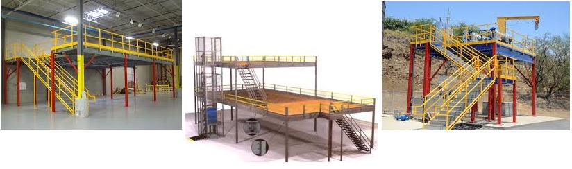 Mezzanines structural