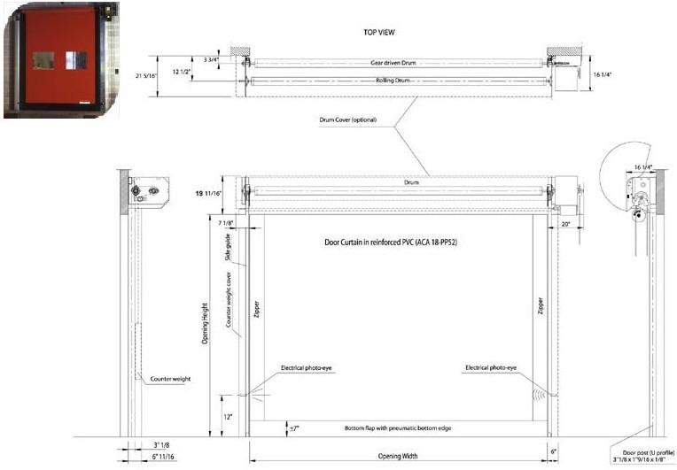 M2 Basic Door Ontario Warehouse Shelving Racking