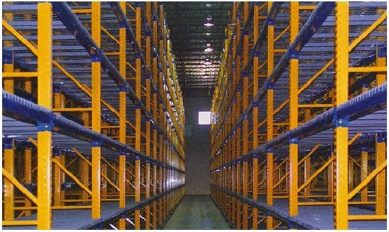 Roll Formed Selective Pallet Racking Roll Formed Rack