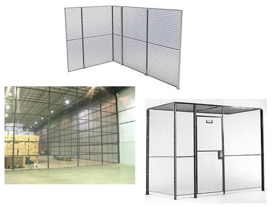 Partition - wire mesh