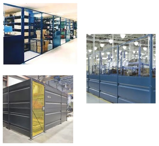 sheet metal partitions