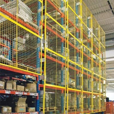 Cogansafegarde Rack Guards Ontario Warehouse Shelving